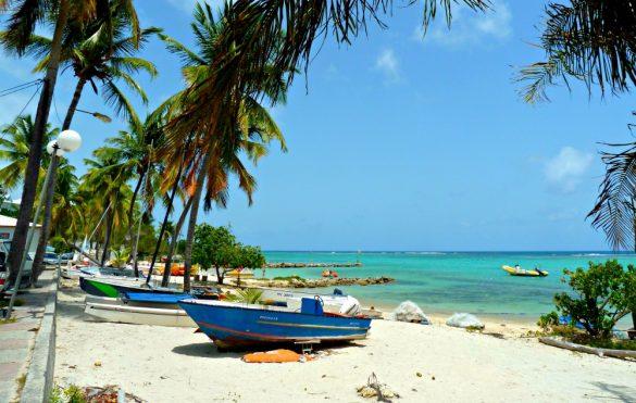 Destination Guadeloupe n°1: restaurant les Pieds dans l'eau, Saint-François