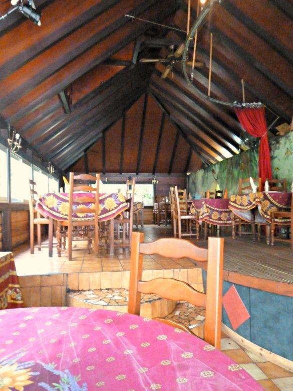 Restaurant le Tamarinier, Saint-Claude, Guadeloupe