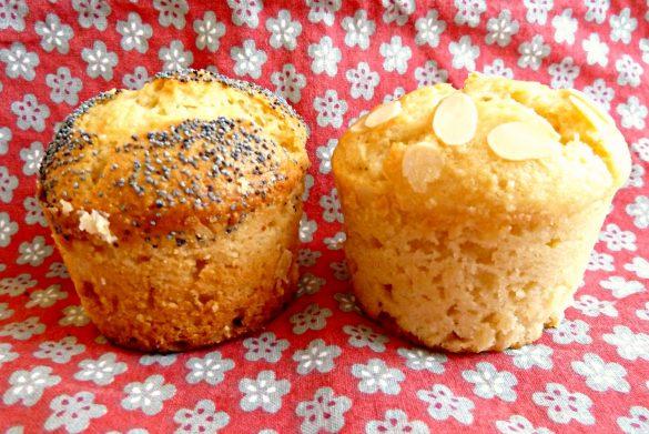Muffins moelleux citron amande