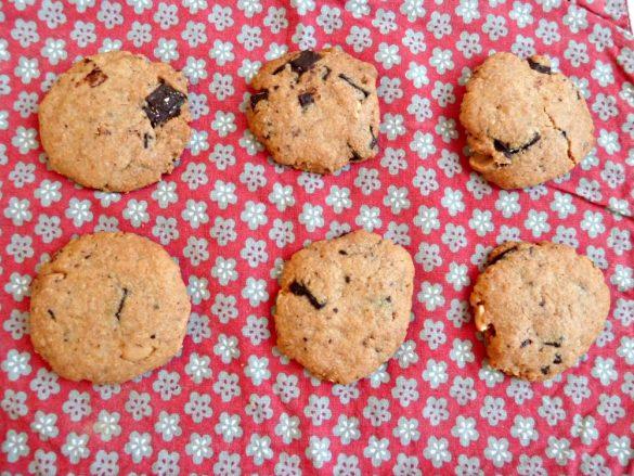 Cookies beurre de cacahuète – pépites de chocolat