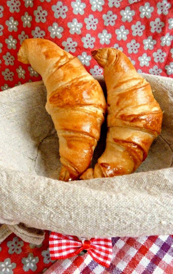 Croissants maison (recette de Felder)