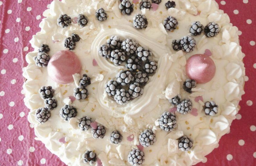 Vacherin vanille framboise