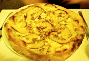 Pizza poires