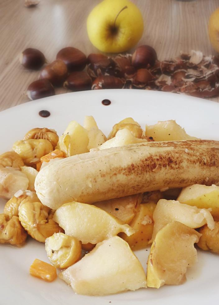 Boudin blanc pommes - Rappelle toi des mets