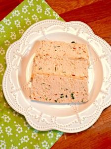 Terrine de saumon seule