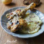 Poulet aux champignons lardons - Rappelle toi des mets