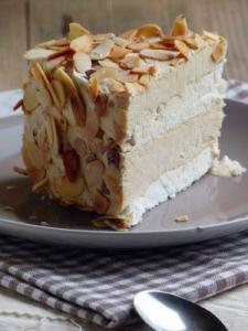 Gâteau glacé café meringue
