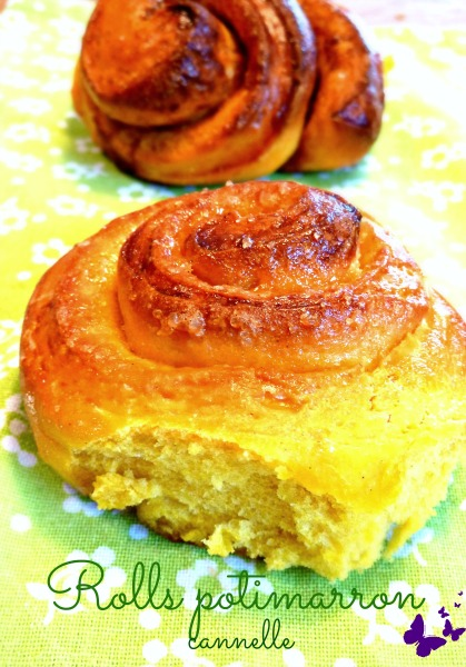 Brioche potimarron cannelle – Cinnamon pumpkin rolls