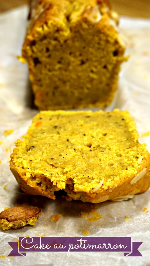 Cake moelleux potimarron noisettes
