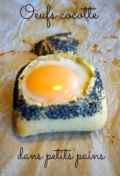 Oeuf cocotte en petits pains