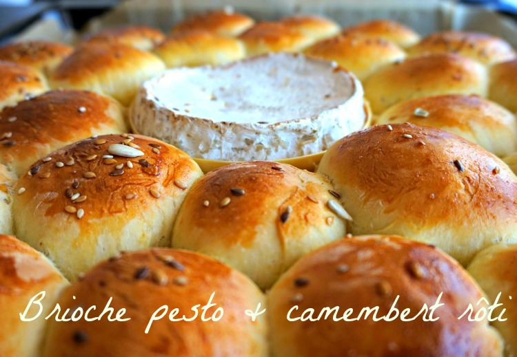 Brioche butchy pesto camembert