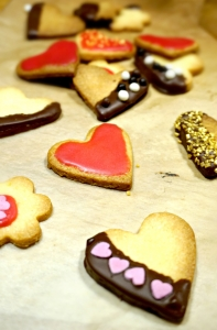 Biscuits saint valentin