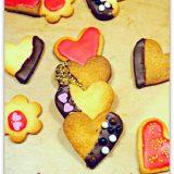 Biscuits saint valentin