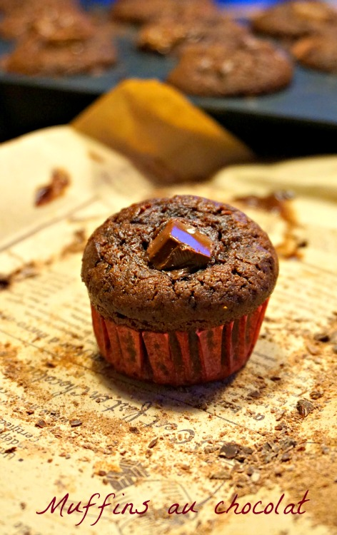 Muffins au chocolat extra moelleux!