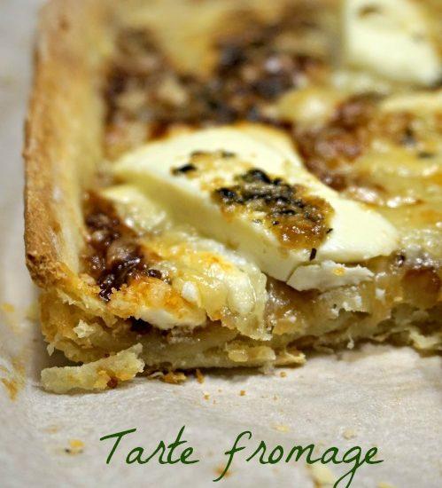 tarte salée fromage figue