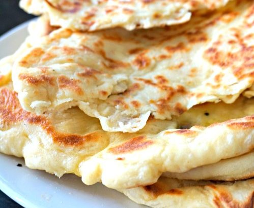 Naan au fromage - Rappelle toi des mets