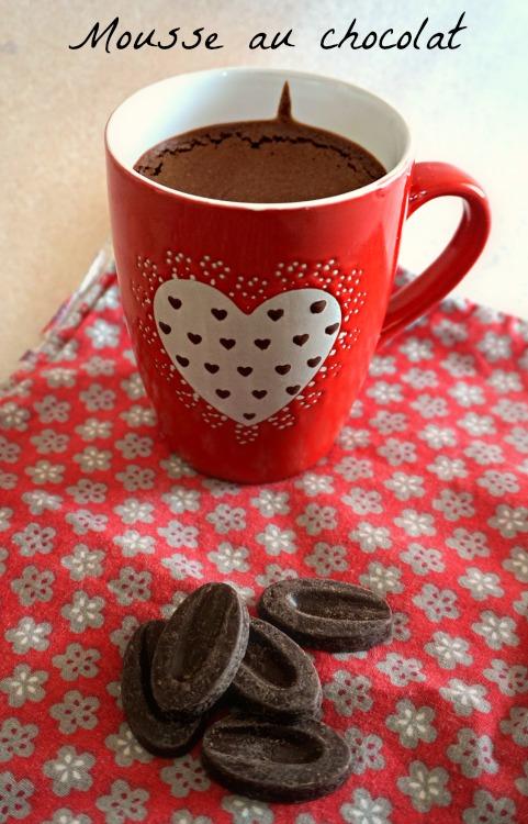 Mousse au chocolat - Rappelle toi des mets