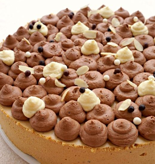 L'Irrésistible : entremets chocolat praliné, 2 ans du blog!
