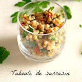 Taboulé de sarrasin - Rappelle toi des mets