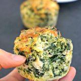 muffins épinards saumon - Rappelle toi des mets