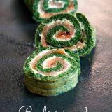 roulé épinards saumon