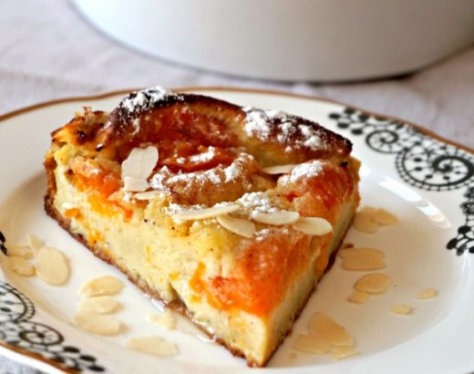 Clafoutis aux abricots - Rappelle toi des mets