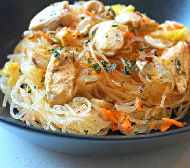 Salade asiatique - Rappelle toi des mets