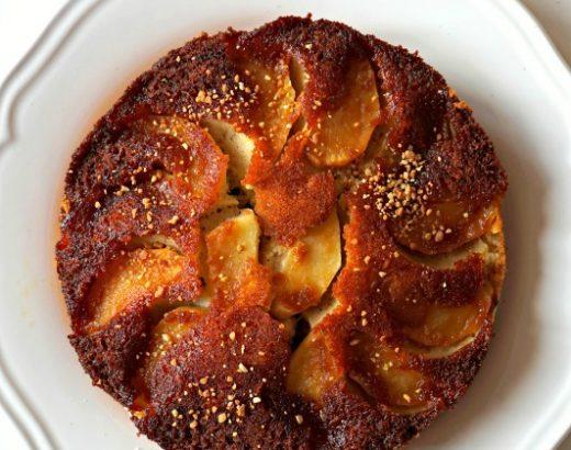 Gâteau renversé aux pommes - Rappelle toi des mets