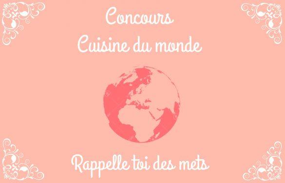 Concours cuisine du monde !! Un colis balinais à gagner