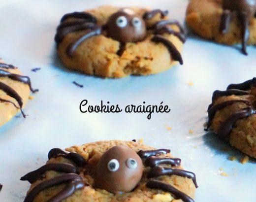 Cookies araignée - Rappelle toi des mets