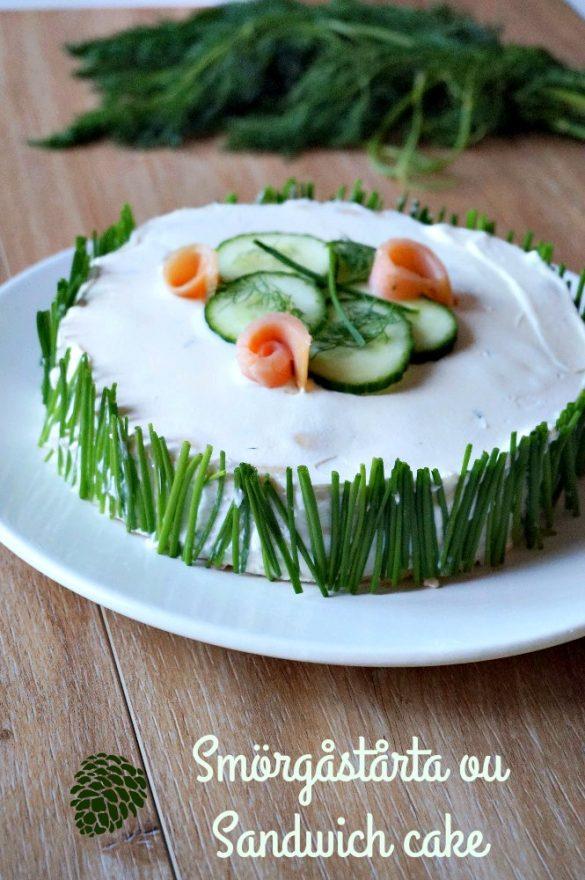 Sandwich cake / Smörgåstårta