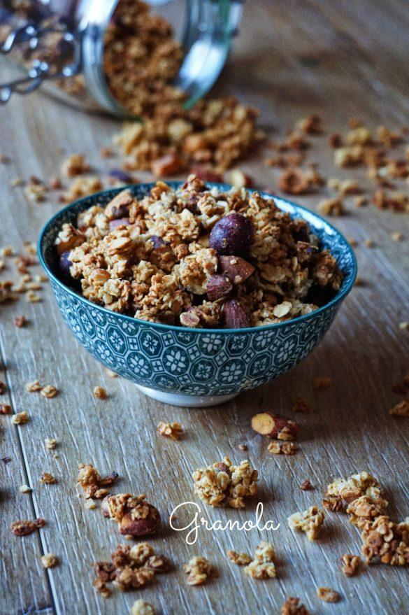 Muesli / granola maison croquant