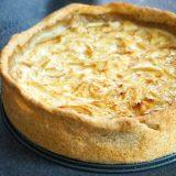 Tarte au fromage blanc - Rappelle toi des mets