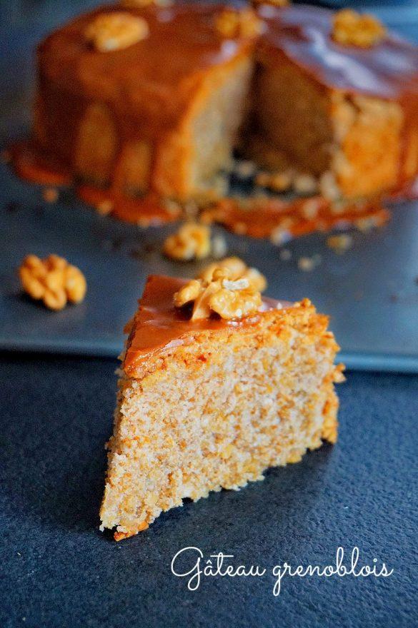 Gâteau aux noix (gâteau grenoblois)