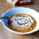 Velouté butternut châtaignes - Rappelle toi des mets