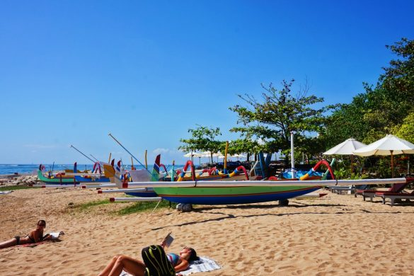 Sanur, côte Est de Bali