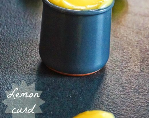 Lemon curd - Rappelle toi des mets