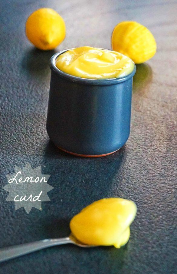 Lemon curd, à manger à la petite cuillère!