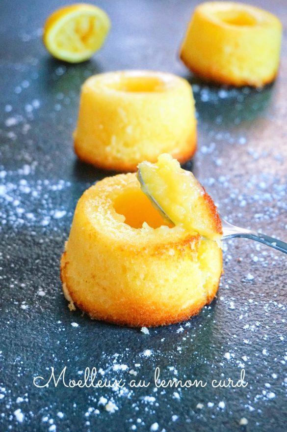 Moelleux au lemon curd