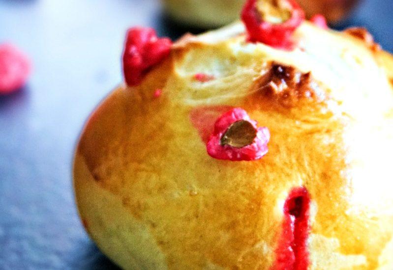 Brioche aux pralines roses - Rappelle toi des mets