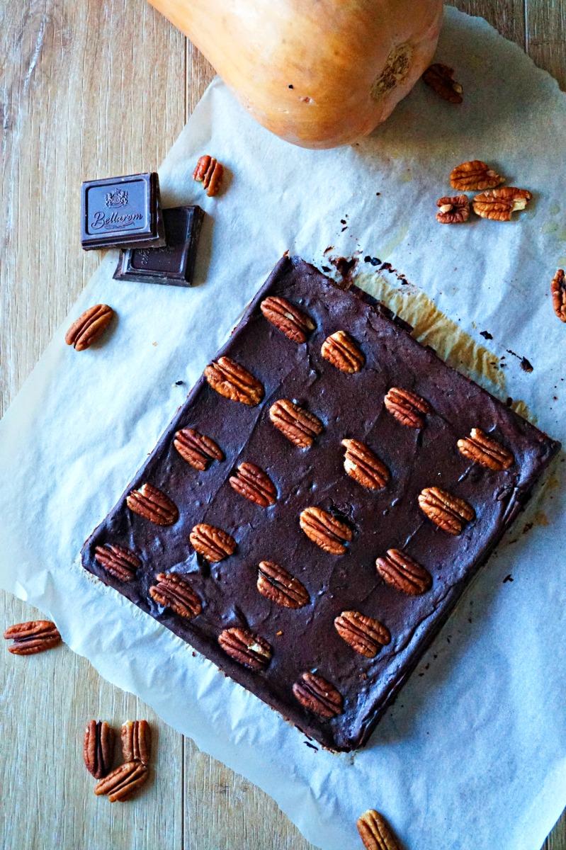 Brownie butternut chocolat - Rappelle toi des mets