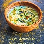 Soupe pomme de terre petits pois poulet - Rappelle toi des mets
