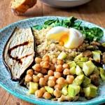 Quinoa légumes rôtis - Rappelle toi des mets