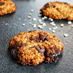Cookies banane chocolat avoine IG bas - Rappelle toi des mets
