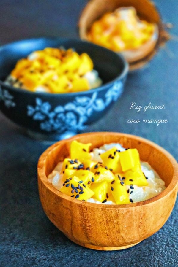 Riz gluant coco mangue - Rappelle toi des mets