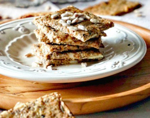 Crackers aux graines - Rappelle toi des mets