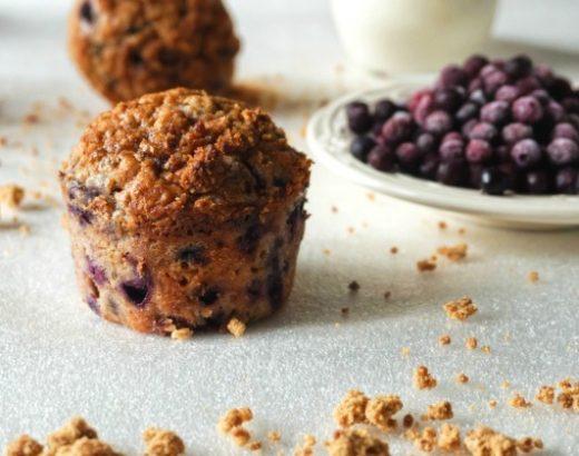 Muffins aux myrtilles - Rappelle toi des mets