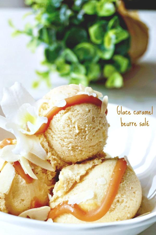Glace au caramel beurre salé - Rappelle toi des mets