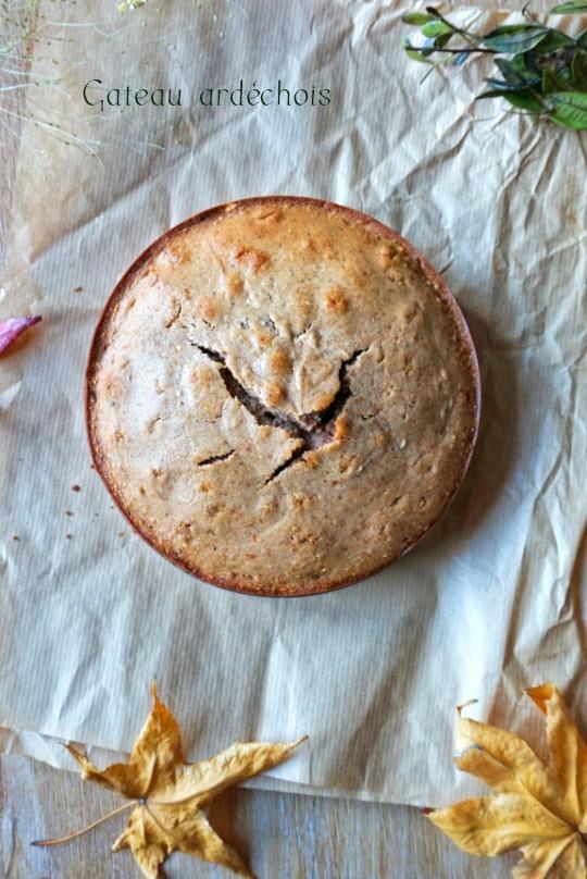 Gâteau ardéchois - Rappelle toi des mets