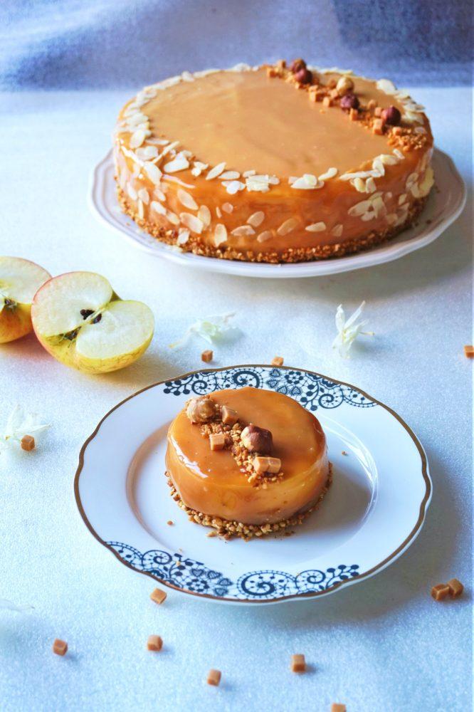 Entremets pomme caramel - Rappelle toi des mets